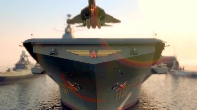 Адмирал флота Советского Союза авианесущий крейсер Кузнецов