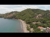 Коста-Рика. Playa Hermosa, вид сверху.