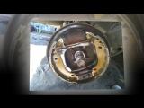 Замена задних тормозных колодок PEUGEOT 206