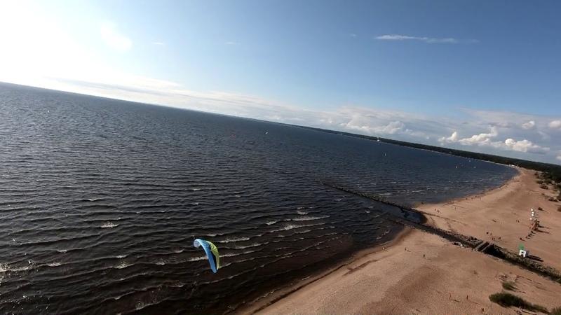 Сестрорецкий пляж PPG полеты SkyMax Star - Ozone Speedster 2/Viper 4