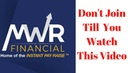 MWR Financial Don't Join Till You Watch This Video
