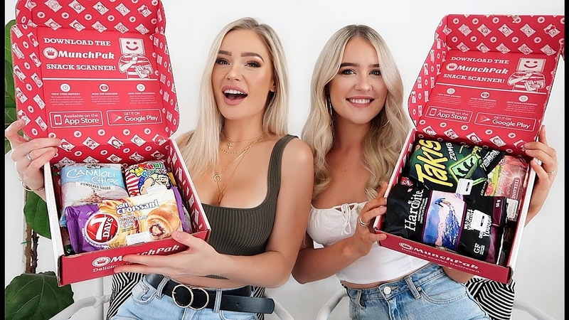 TRYING SNACKS FROM AROUND THE WORLD W MY SISTER!