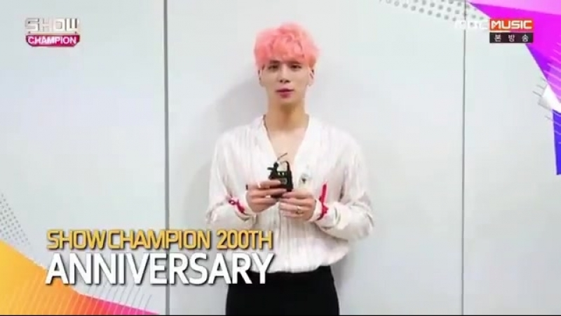 160915 Show Champion 200th Anniversarry Message
