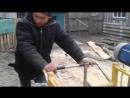 Самодельная ленточная пилорама - stroimdomr