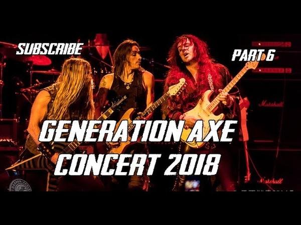 Generation Axe Concert Part 6 ~ Steve Vai, Zakk Wylde, Malmsteen, Bettencourt