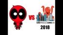 Deadpool vs Los Angeles Comic Con 2018