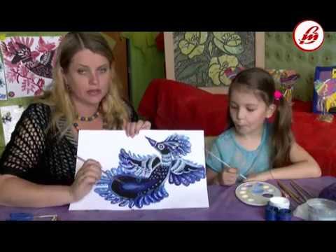 Кошик творчих ідей петриківський птах