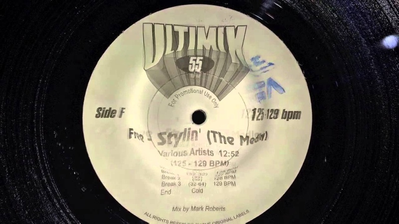 ULTIMIX 55 - Free-Stylin (The Medley)
