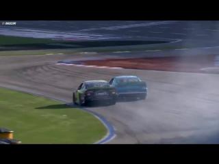 NASCAR Ровал в Шарлотт , лучшие моменты и безумный финиш