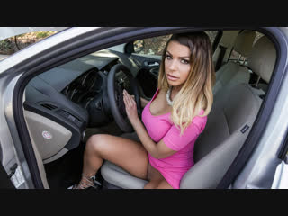 Brooklyn chase - stranded milf [brunette, car, outdoors, straight, squirt, titfuck, tattoos, big tits, facial, milf, 720p]