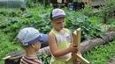 Детское творчество Тимофей рассказывает как сделать деревянное оружие своими руками