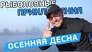 Осенняя фидерная рыбалка на Десне! Рыболовные приключения с Евгением Чертенковым!