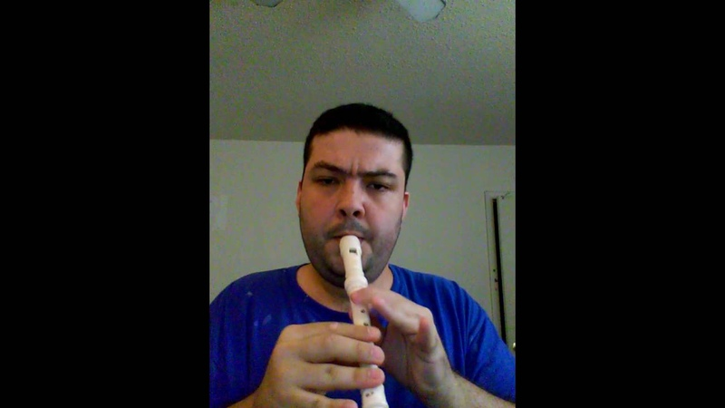 The Final Countdown - Europe flute cover (recorder) na flauta doce