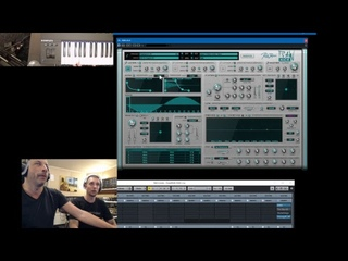 Rob Papen Live Stream 17 Oct 2018 with RAW-Kick and DJ Free-K