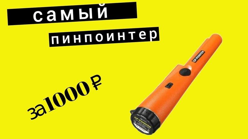 ЛУЧШИЙ пинпоинтер за 1000 рублей