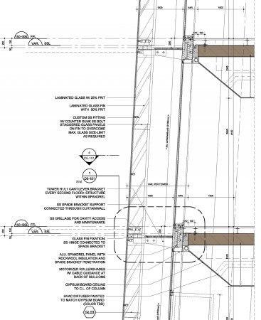 Особенности двухслойного фасада