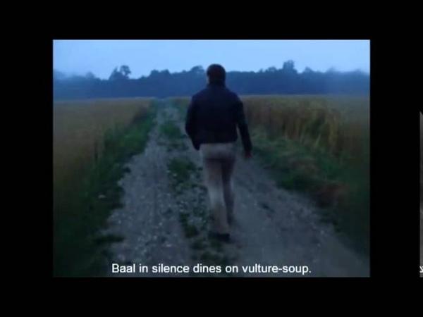 Fassbinder's introductory scene in baal (1970)