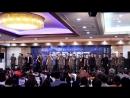 На пресс конференции мюзикла Военная школа Шинхын