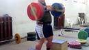 KYRIAKOS GRIZZLY EZ Bar Upright Row 15x150kg