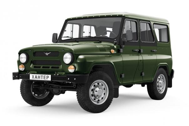 Грузовой УАЗ Хантер поступил в продажу