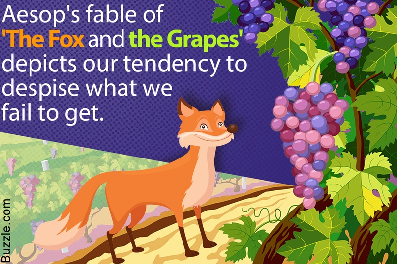 moral of story fox and grapes