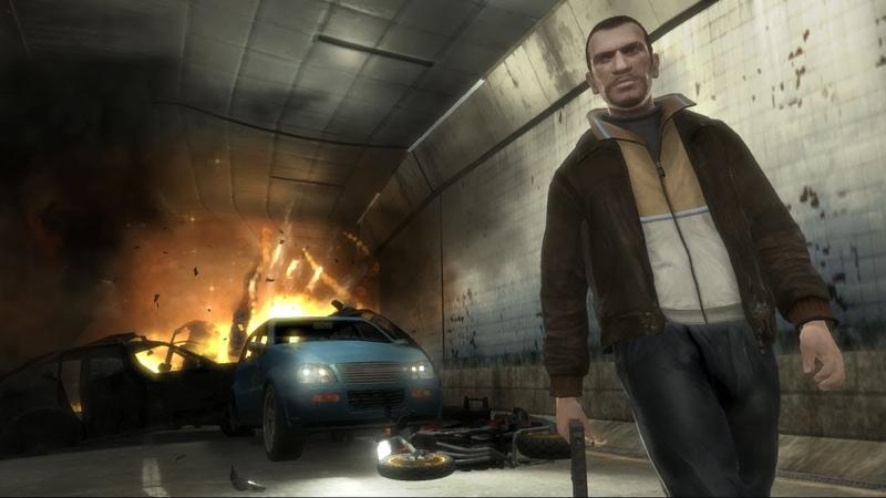 Прохождение игры Grand Theft Auto IV преследование главного героя в городе Нью Йорка