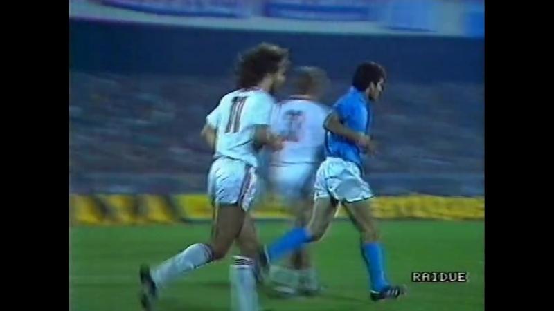 Кубок УЕФА 1988/89. Наполи Италия - Штутгарт Германия