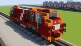 Minecraft CC 300 Indonesian Locomotive Kereta Api Tutorial