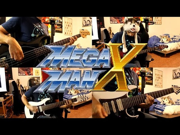 Megaman X goes Rock - Opening Stage