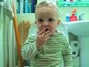 Разговор с сыном о вреде курения в 2 года. Прикол!