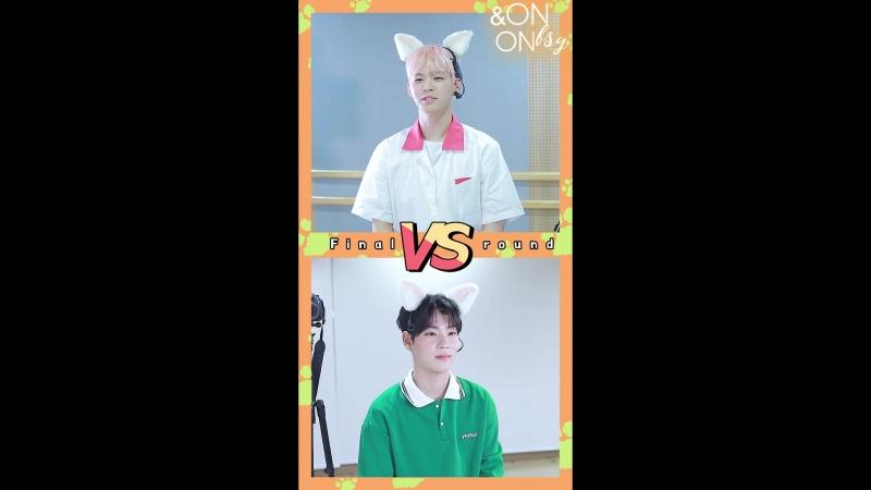 ONF Dugeun Dugeun Is This Real: E-Tion VS Hyojin (Finals) (рус.саб)