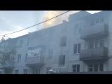 Пожар на ул. Иванова
