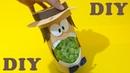 Do Lixo ao Luxo : Porta Pipocas feito com Garrafa Pet - Artesanato DIY
