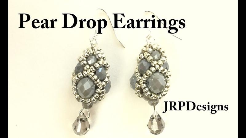 Pear Drop Earrings-