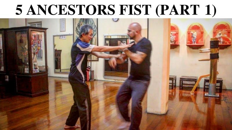 Chee Kim Thong 5 Ancestors Fist Part 1 THE MARTIAL MAN