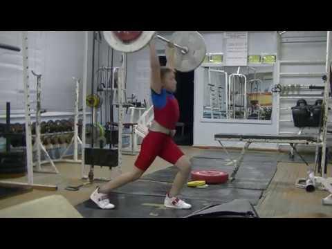 Бармин Иван, 10 лет, собст вес 38 15 Толчок 25 кг