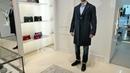 Total-look от ISAIA: пальто Rosso T, пиджак Pompei, рубашка, джинсы, ремень и ботинки