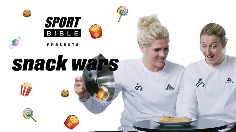 Is this the stuff Messi drinks? | England's Lionesses play Snack Wars: England v Argentina
