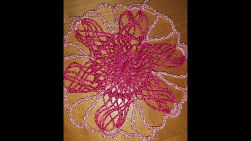 Crochet hairpin lace summer blouse motifs part 1- with Ruby Stedman