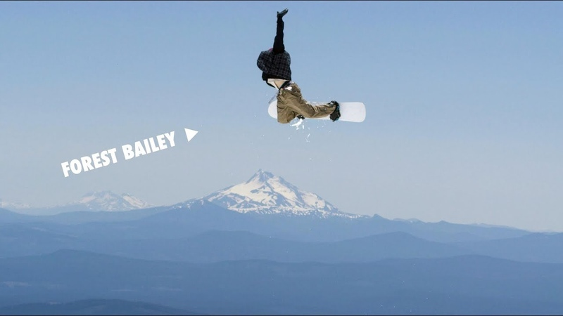 How to do a Method to Frontside Air with Forest Bailey | TransWorld SNOWboarding Grab Directory