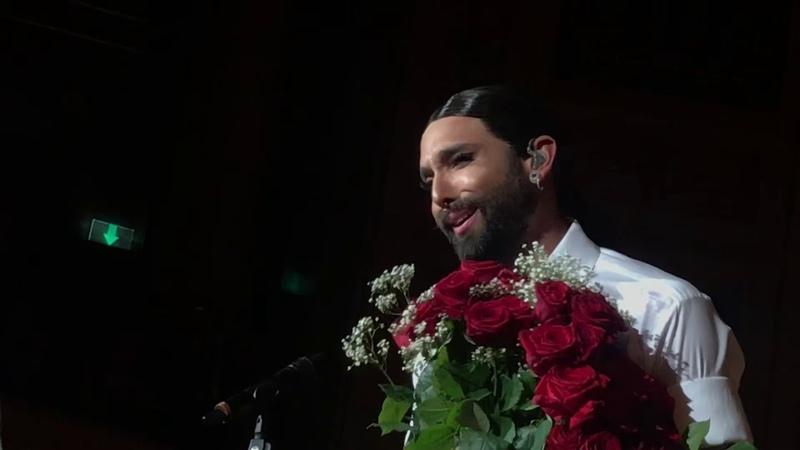 Conchita - Für Mich Soll's Rote Rosen Regnen, Vienna 20.10.2018