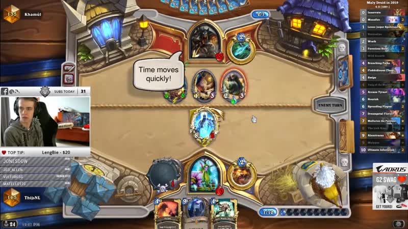 Thijs Hearthstone Is This The Best Druid Deck To Play In Legend