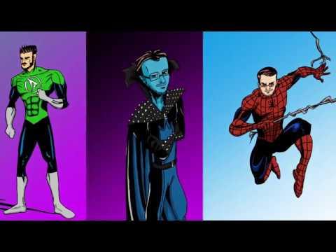 Рисую знаменитых ютуберов в образе супер-героев (Войтенко, ENGLISH GALAXY, Kuplinov Play.)