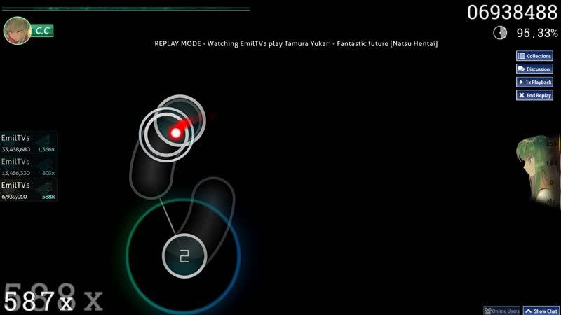 Osu! - Fantastic future - 122pp - 94.51 - 1 366x , fuul combo