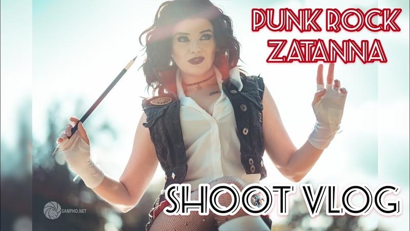 Punk Rock Zatanna Shoot Vlog