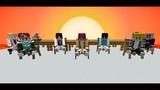 BTS IDOL MV in Minecraft