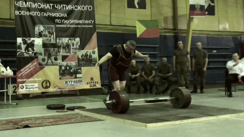 Чемпионат военного гарнизона по пауэрлифтингу IPF