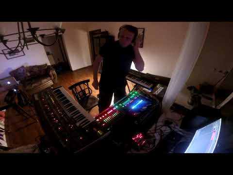 Dimitri Kozlov - Roland Aira Live house set with Jupiter-6 JX-3P