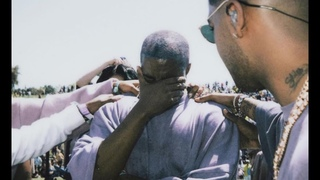 Kanye West gets touched by God | Chance The Rapper and DMX at Kanye West Sunday Service