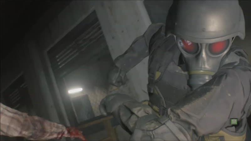 Resident Evil 2 — геймплей в режиме Ghost Survivors